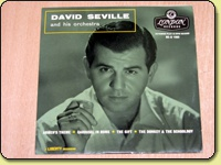 David Seville and His Orchestra - Self Titled EP