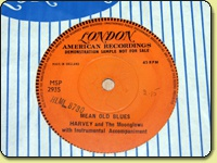 Harvey and The Moonglows - Mean Old Blues - Demo Single