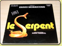 Ennio Morricone - Le Serpent Soundtrack *Nr MINT