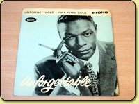 Nat King Cole - Unforgettable EP