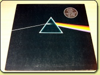 Pink Floyd - The Dark Side Of the Moon - Solid Blue