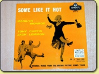 Marilyn Monroe - Some Like It Hot EP